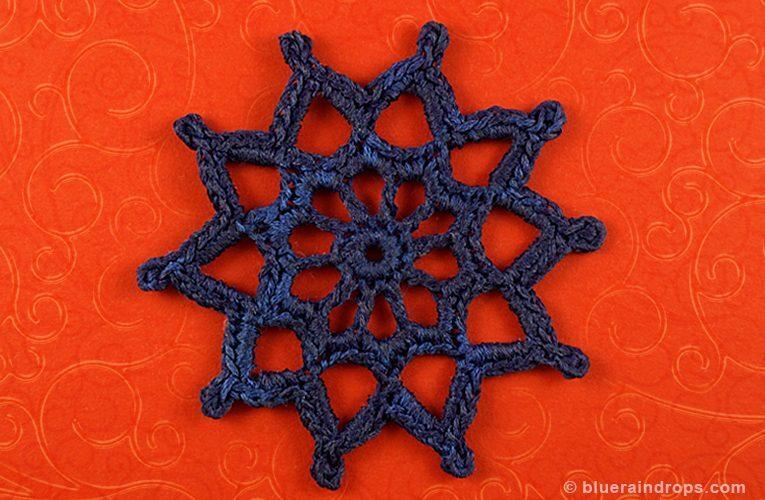 free crochet medallion pattern