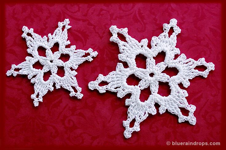 lace snowflake pattern