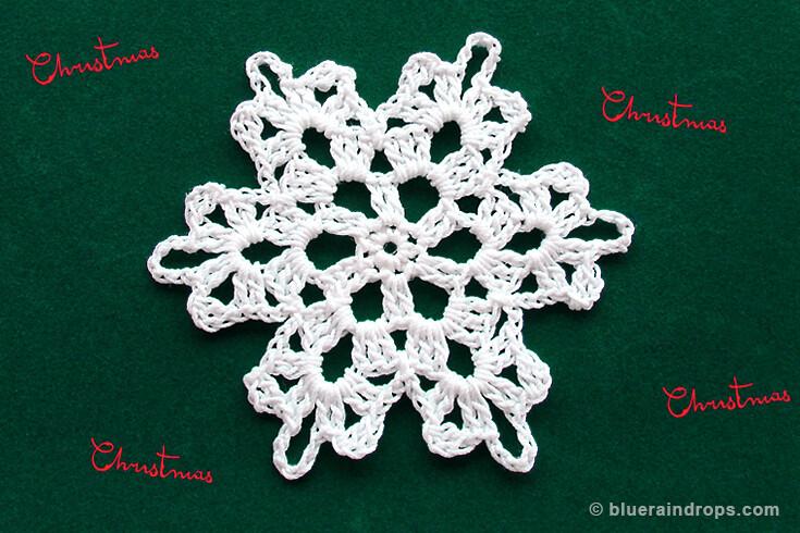 crochet pattern snowflakes