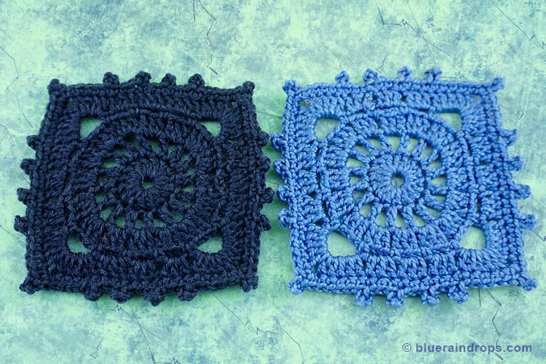 easy crochet tutorial square motif