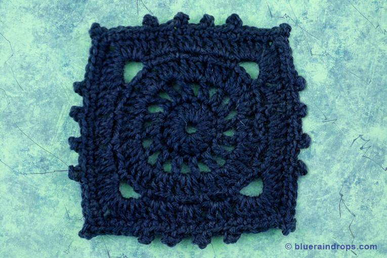 Crochet Circle Square - Blueraindrops Arts & Crafts