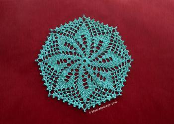 Octagon Crochet Doily