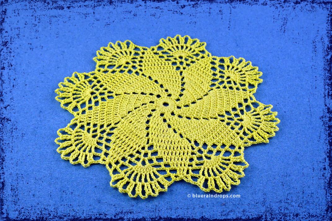 Andromeda Doily Crochet Pattern