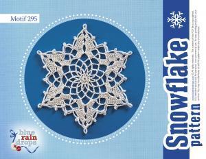 Crochet Big Snowflake Pattern