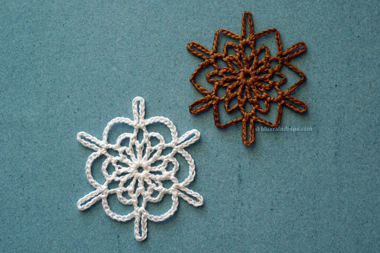 Super Quick Crochet Snowflakes